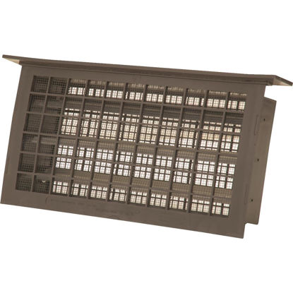 Picture of Witten 8 In. x 16 In. Brown Automatic Foundation Ventilator with Lentil