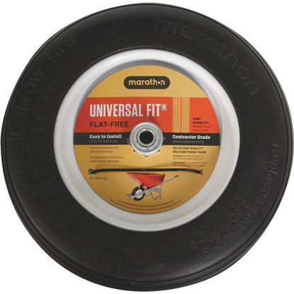 Picture of Marathon 14.5 In. Universal Flat Free Wheelbarrow Wheel