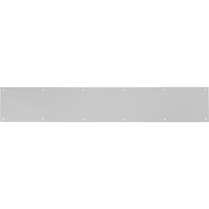 Picture of Tell 6 In. x 30 In. Stainless Steel Kick Plate