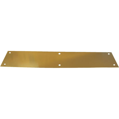 Picture of Tell 3.5 In. x 15 In. Brass Push Plate