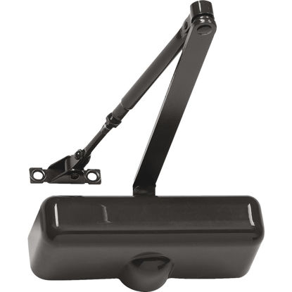 Picture of Tell Brown Interior Residential Door Closer