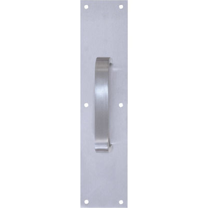 """Picture of Tell 6"""" Aluminum Pull Plate with Flat Handle"""