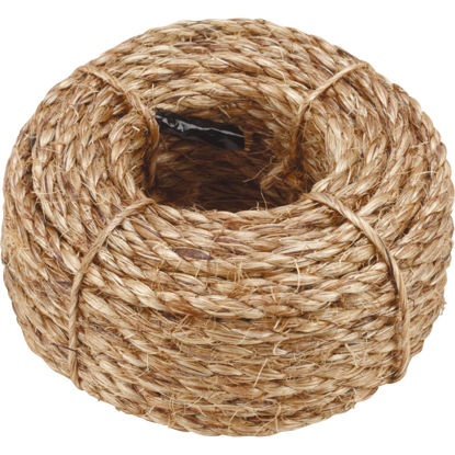 Picture of Do it 1/4 In. x 50 Ft. Natural Twisted Manila Fiber Packaged Rope