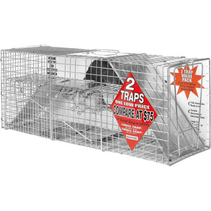 Picture of Advantek Galvanized 32 In. Catch & Release Animal Trap (2-Pack)