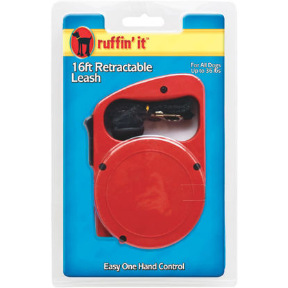 Picture of Westminster Pet Ruffin' it Up to 36 Lb. 16 Ft. Webbed Retractable Leash