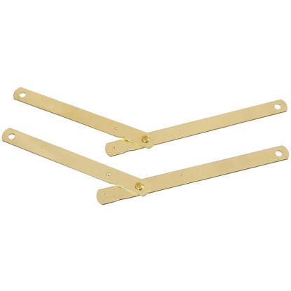 Picture of National Steel 9-1/2 In. Brass Table Leg Support,(2-Pack)