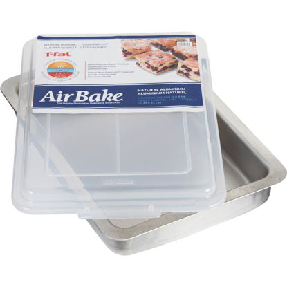 Picture of T-Fal AirBake 9 In. x 13 In. Oblong Baking Dish with Cover