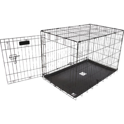 Picture of Petmate Aspen Pet 22.6 In. W. x 25.4 In. H. x 34.6 In. L. Heavy-Gauge Wire Indoor Training Dog Crate