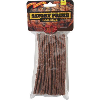 Picture of Savory Prime Beef Strips 5 In. Rawhide Chew, 12-Pack