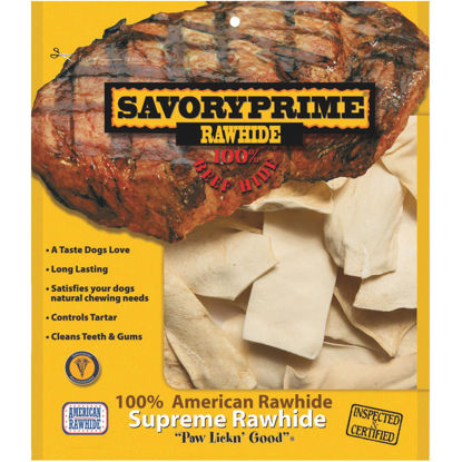 Picture of Savory Prime 1 Lb. Rawhide Chips