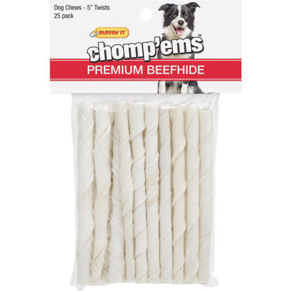 Picture of Westminster Pet Ruffin' it Chomp'ems 5 In. Beef Chew Roll (25-Pack)