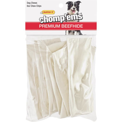 Picture of Westminster Pet Ruffin' it Chomp'ems 6 Oz. Rawhide Chips
