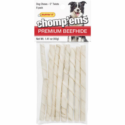 Picture of Westminster Pet Ruffin' it Chomp'ems 5 In. Beef Chew Roll (8-Pack)