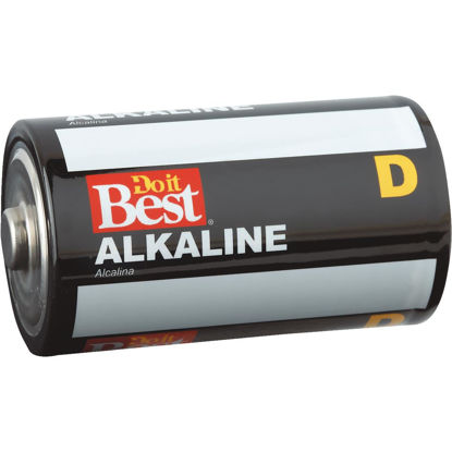 Picture of Do it Best D Alkaline Battery (4-Pack)