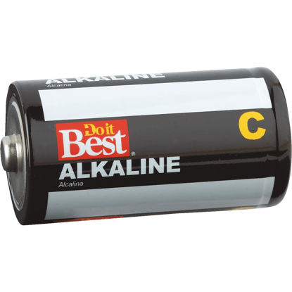 Picture of Do it Best C Alkaline Battery (4-Pack)