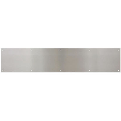 Picture of National 6 In. x 30 In. Satin Nickel Aluminum Kickplate
