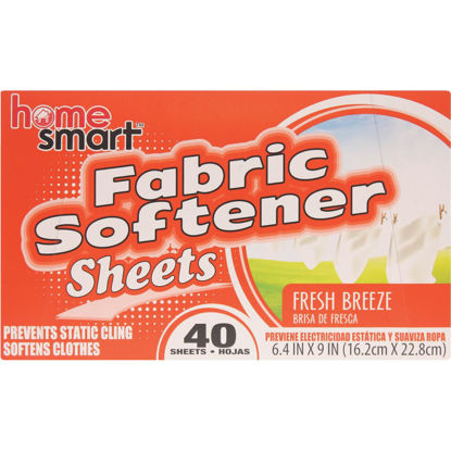 Picture of Home Smart Fresh Breeze 40 Loads Dryer Sheet