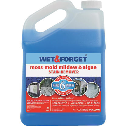 Picture of Wet & Forget 1 Gal. Liquid Concentrate Moss, Mildew, Algae, & Mold Stain Remover