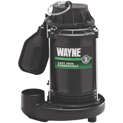 Picture of Wayne 1/2 HP 115V Cast-Iron Submersible Sump Pump