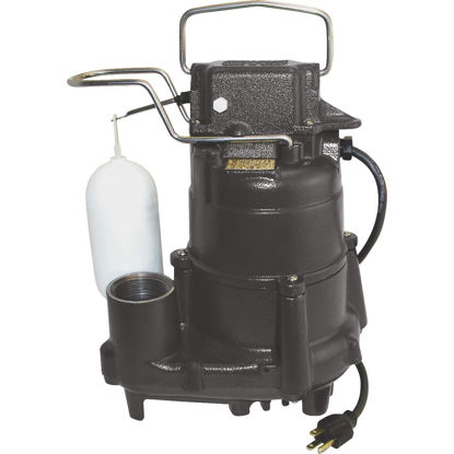 Picture of Do it Best 1/2 HP 115V Cast-Iron Submersible Sump Pump