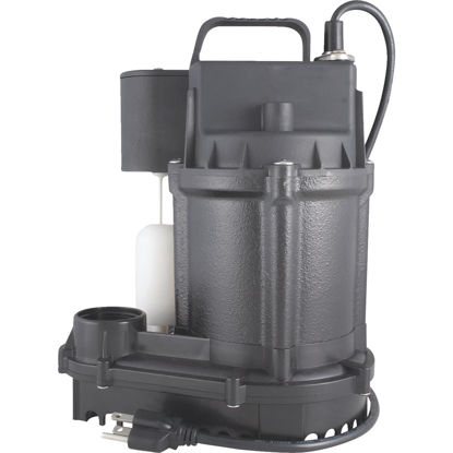 Picture of Do it Best 1/3 HP Cast-Iron Submersible Sump Pump