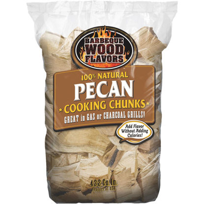 Picture of Barbeque Wood Flavors 6 Lb. Pecan Smoking Chunks
