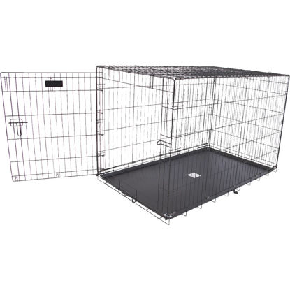 Picture of Petmate Aspen Pet 29.3 In. W. x 31 In. H. x 43.4 In. L. Heavy-Gauge Wire Indoor Training Dog Crate