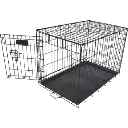 Picture of Petmate Aspen Pet 17 In. W. x 19.4 In. H. x 24.6 In. L. Heavy-Gauge Wire Indoor Training Dog Crate