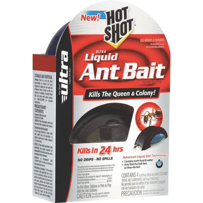 Picture of Hot Shot Ultra 3.6 Oz. Liquid Ant Bait Station (4-Pack)