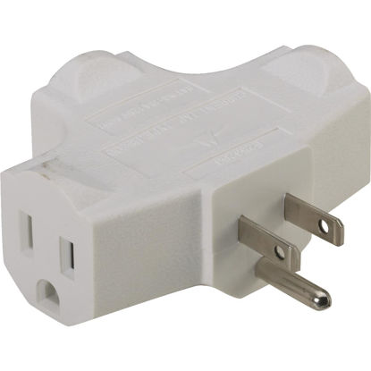 Picture of Do it White 15A 3-Outlet Tap