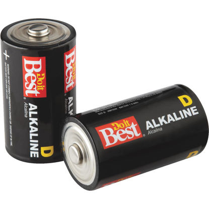 Picture of Do it Best D Alkaline Battery (2-Pack)