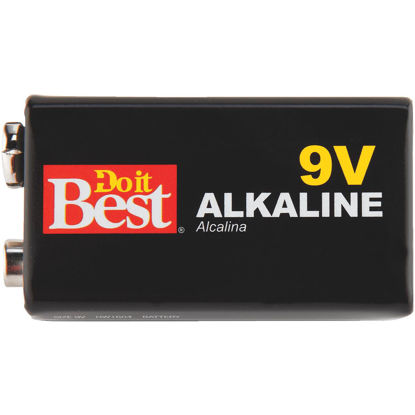 Picture of Do it Best 9V Alkaline Battery