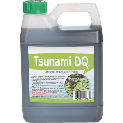 Picture of Tsunami DQ 1 Qt. Liquid 2 to 8 Qt./Acre Coverage Area Pond Weed Control