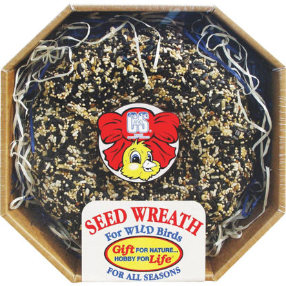 Picture of C&S 2.6 Lb. Wild Bird Seed Wreath