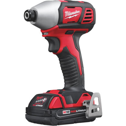 Picture of Milwaukee M18 18 Volt Lithium-Ion 1/4 In. Cordless Impact Driver Kit