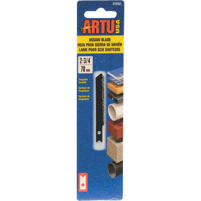 Picture of ARTU U-Shank 2-3/4 In. Carbide Grit Edge Jig Saw Blade
