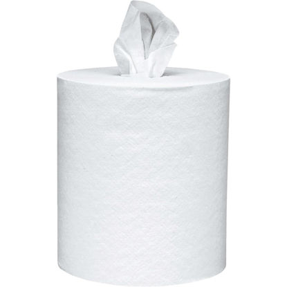 Picture of Kimberly Clark Scott White Center Flow Roll Towel (4 Count)