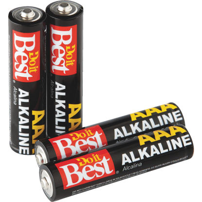 Picture of Do it Best AAA Alkaline Battery (4-Pack)