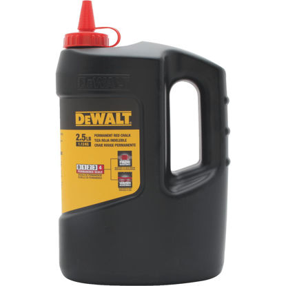 Picture of DeWalt 5 Lb. Red Chalk Line Chalk