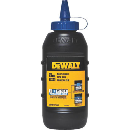 Picture of DeWalt 8 Oz. Blue Chalk Line Chalk