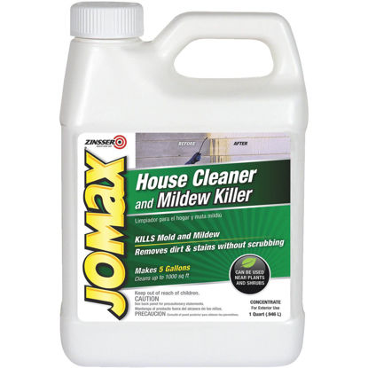 Picture of Zinsser Jomax House Cleaner and Mildew Killer, 1 Qt.