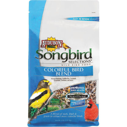 Picture of Audubon Park Songbird Selections 4 Lb. Colorful Wild Bird Seed
