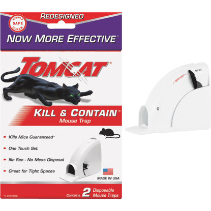 Picture of Tomcat Kill & Contain Mechanical Mouse Trap (2-Pack)