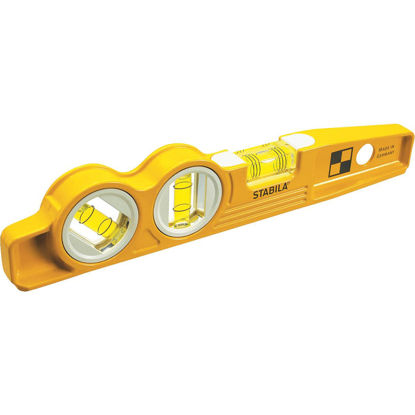Picture of Stabila 10 In. Aluminum Magnetic V-Groove Torpedo Level