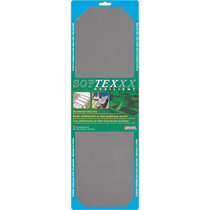 Picture of Softex 6 In. x 21 In. Gray Safety Tread