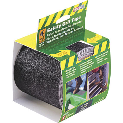 Picture of LIFESAFE 4 In.x 15 Ft. Black Anti-Slip Walk Safety Tape