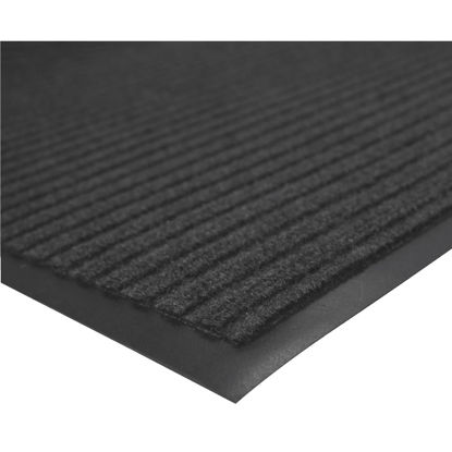 Picture of Multy Home Platinum 3 Ft. x 45 Ft. Charcoal Carpet Runner, Indoor/Outdoor