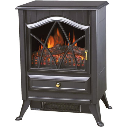 Picture of Comfort Glow Ashton Dual Power Steel Electric Stove