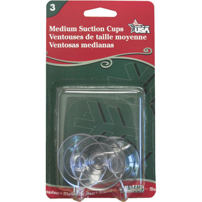 Picture of Adams 1-3/4 In. 1 Lb. Holding Capacity Suction Cup (3-Pack)