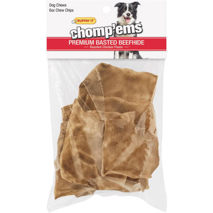 Picture of Westminster Pet Ruffin' it Chomp'ems 6 Oz. Chicken Rawhide Chips
